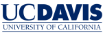 UC Davis logo blue