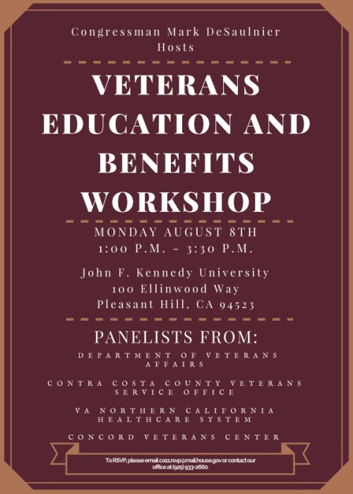 Veterans Education and Benefits Workshop